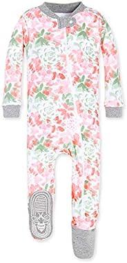 Burt's Bees Baby Unisex-Baby Baby Organic Zip Front Sle