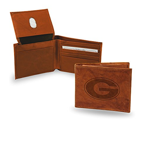 NCAA Georgia Bulldogs Embossed Leather Billfold Wallet