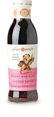Ginger People Spicy Ginger Teriyaki Sauce - 12.7 Ounce (Pack of 2)