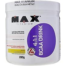 BCAA 4:1:1-280g Drink Maracujá, Max Titanium