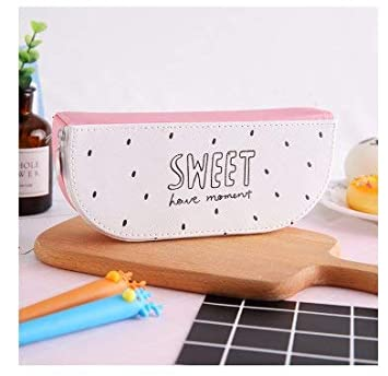 Amazon.com: Loune Week Fruit Leather 1Pcs Kawaii Pencil Case ...