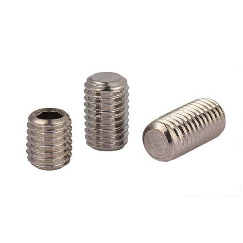 Ochoos M5 M8 Set Screw Fastener grub Screw Flat end tip Inner Hexagon Drive Stainless Steel Hex Socket Set Bolt fuul Thread Kimi - (Dimensions: M8x40 100pcs)