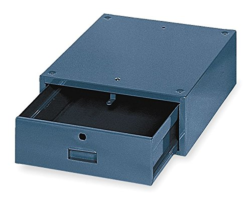 Stackable Drawer, 17W x 20D x 6-1/2H, Blue