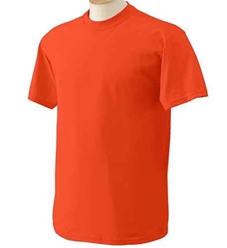 Gildan - Heavy Cotton T-Shirt - 5000 - Safety Orange - 5XL
