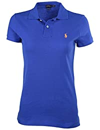 Polo Ralph Lauren Women's Classic Fit Mesh Pony Shirt-Bright Imperial 2805-XS