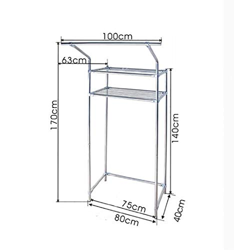 DEED Floor Standing Punch Free Rack Sundries Storage Rack Floor Type Commodity Shelf