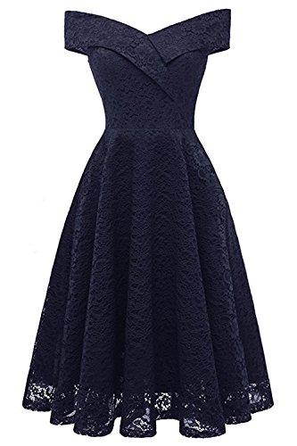 Kleid elegant carmenausschnitt
