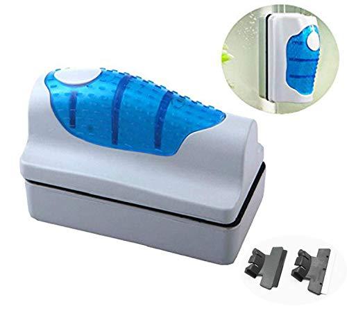 Amicc Magnetic Brush Glass Algae Scraper Cleaner Aquarium Fish Tank Floating Curve (XL)