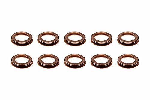 (1980-2016 Nissan 10pcs. Lower Oil Pan Drain Plug Crush Washer Gasket OEM NEW)