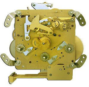 l Clock Movement With Bronze Bushings (Bronze) (Hermle Mantel Clock)