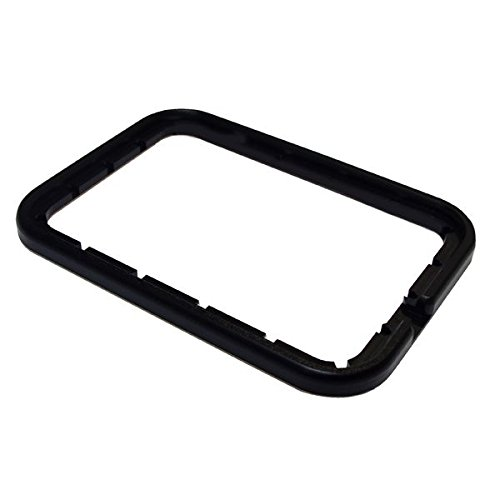 Martelli Rectangle Free Motion Gripper Hoop 8'' x 12'' with 3-Piece Ruler Set by Martelli