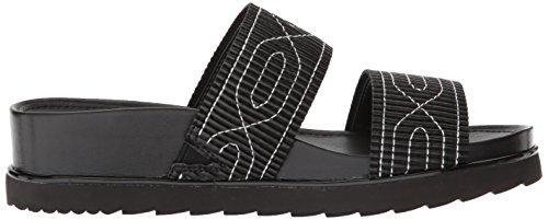 Donald J Pliner Mujeres Cait Slide Sandal Black