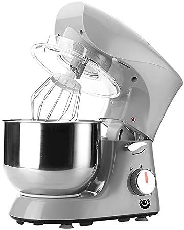 Robot de cocina batidora Cocina para amasar para mezclar eléctrica dispositivo 800 W Gris: Amazon.es: Hogar