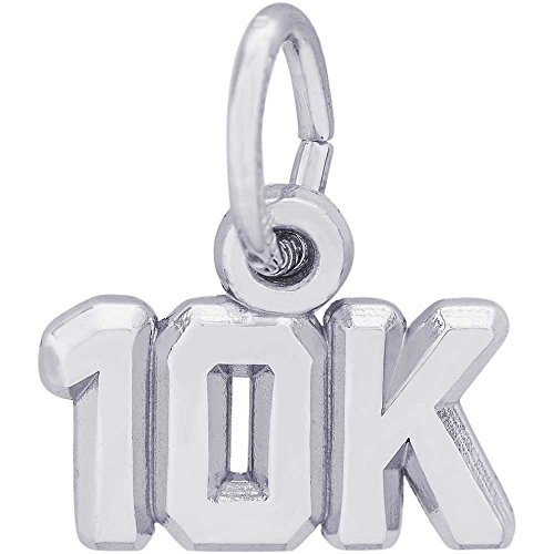 Rembrandt Charms 10K Charm, Sterling Silver (Rembrandt 10k Charms)