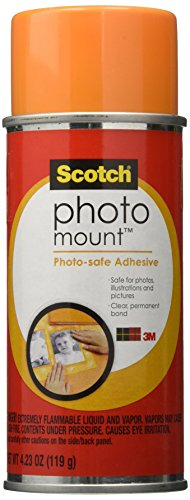 3M Photo Mount 4-1/4 Ounce Spray Adhesive