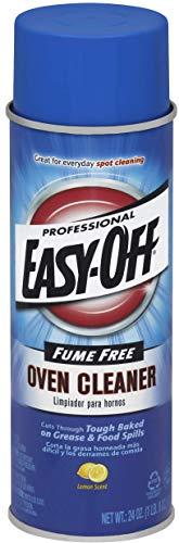 Commercial Lemon Cleanser - Easy Off Professional Fume Free Max Oven Cleaner, Lemon 24 oz Can (4 Pack(24 oz))