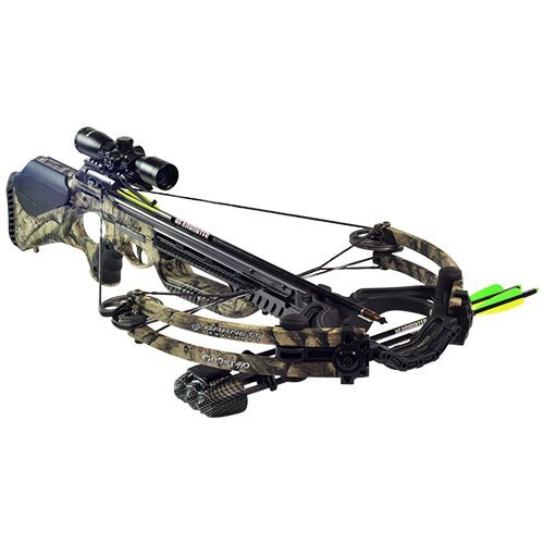 Barnett Outdoors Ghost 410 CRT Crossbow Package, Large, Camo (Barnett Crossbow Ghost 410)