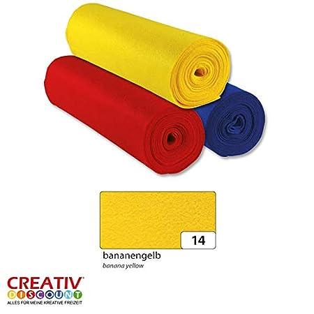 Creative Discount/® Filzrolle 500x45 cm Aprico Haut
