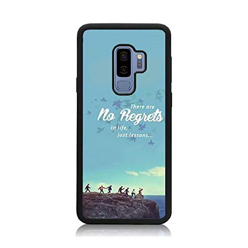 sports shoes d9903 a2b5b Amazon.com: Galaxy S9 Plus Case, Customized Black BTS Papilon Quote ...
