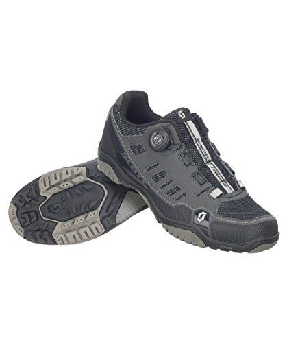 Zapatillas MTB Scott Crus-R Boa Antracita-Negro Talla 46