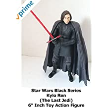 """Review: Star Wars Black Series Kylo Ren (The Last Jedi) 6"""" Inch Toy Action Figure"""