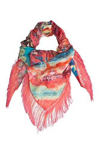 Desigual foulard pour femme 61W54H6 4098 Foulard Boho Amazona