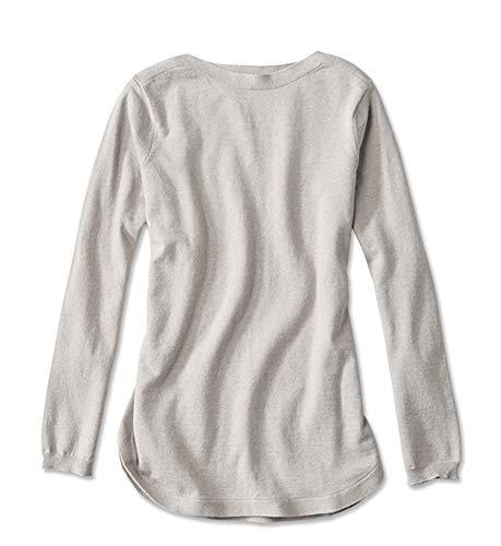 Orvis Women's Cotton/Cashmere/Silk Easy Tunic, Oatmeal, Medium