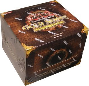 YuGiOh Gold Series 2 2009 Exclusive Limited Edition Booster Box (5 Packs)