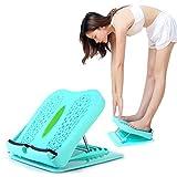 CARESHINE Portable Slant Board Adjustable Incline Boards Folding Stool Foot Massage Fitness Pedal Stretch Standing Board Portable Slant Board Adjustable Footrest