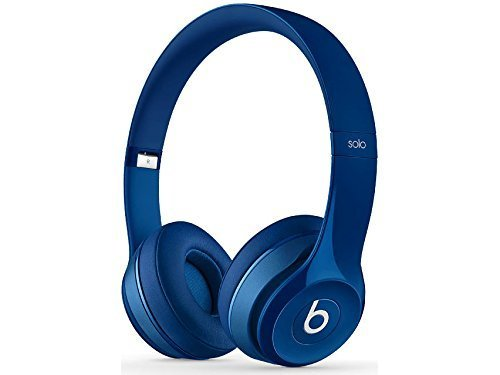Beats Solo2 Wireless On-Ear Bluetooth Headphone - Blue (Wireless Headphones Beats Blue)