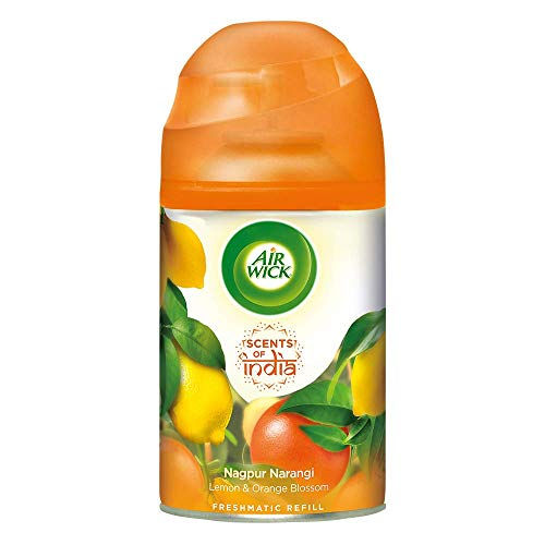 Airwick Freshmatic 'Scents of India' Air-freshner Refill, Nagpur Narangi – 250 ml