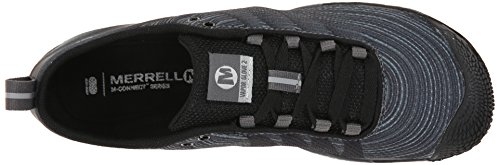Merrell Women's Vapor Glove 2 Trail Running Shoe, Black/Castle Rock, 5 M US by Merrell (Image #8)