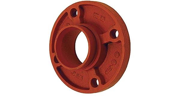 8 5//8 Bolt Holes 4 ID Dixon FA40 4 Flange Adapter Ductile Iron 4 ID