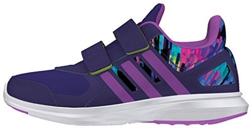 adidas Hyperfast 2.0 Cf K, Zapatillas de Deporte para Niños Morado (Puruni / Pursho / Limsho)