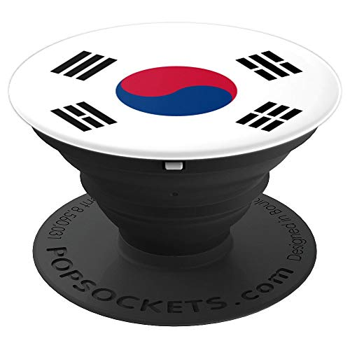 South Korean Flag Kpop - PopSockets Grip and Stand for Phones and Tablets -