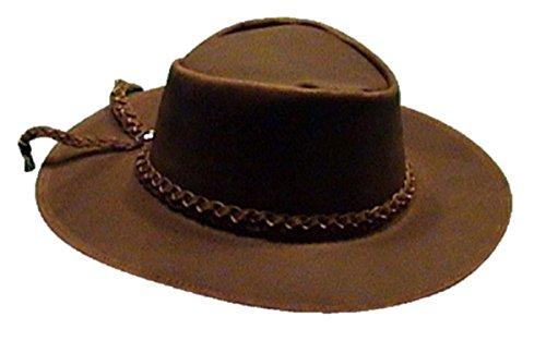 (Sharpshooter Clint Eastwood Good Bad Ugly Brown Leather Cowboy Hat)