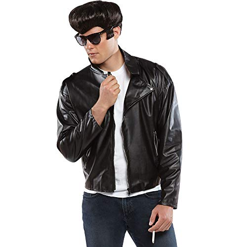 AMSCAN Studded Greaser Jacket Halloween Costume Accessories for Men, Standard -