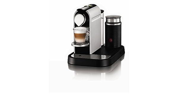 Nespresso Citiz y Milk por Krups xn710641 máquina de café, bomberos rojo Frosted Aluminium: Amazon.es: Hogar
