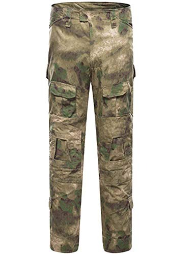 AKARMY Men's Military Tactical Casual Camouflage Multi-Pocket BDU Cargo Pants Trousers G3WF GE - Shirt Camouflage Bdu