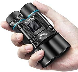 SALLOUS 10x25 Compact Binoculars