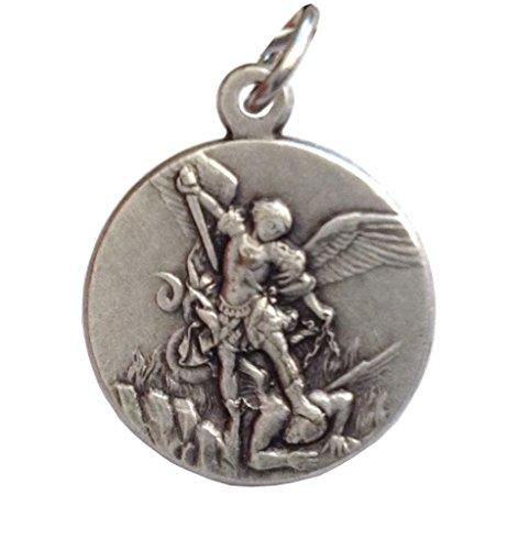 Saint Michael The Archangel Silver Medal - The Patron Saints Medals -