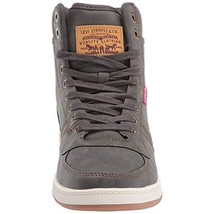 Levi's Mens Stanton Waxed UL NB Fashion Hightop Sneaker Shoe 2
