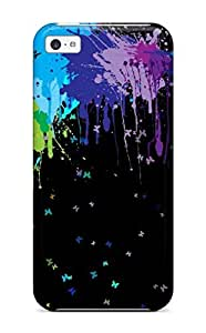 Hot ZKEhAZh2158pxrft Case Cover Protector For Iphone 4/4s- Colorful Abstract