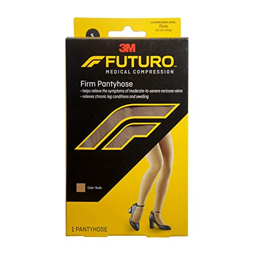 Futuro Pantyhose Brief Cut Panty Firm Small Nude 1 Pair