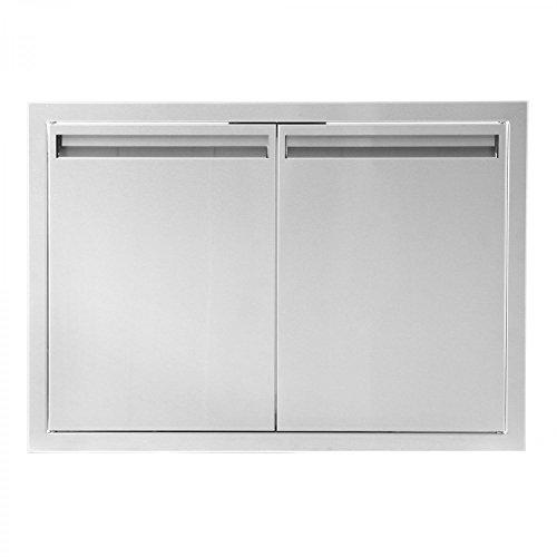 BBQGUYS Aspen Series 30-Inch Stainless Steel Double Access Door