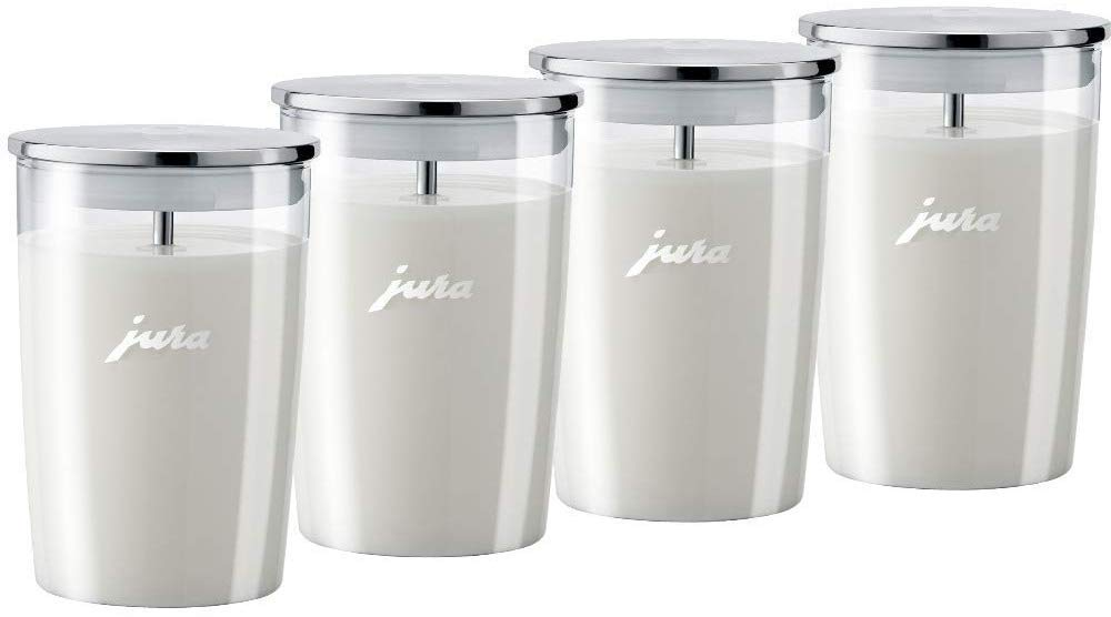 Jura 72570 - Recipiente para leche (cristal), transparente: Amazon ...