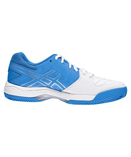 6 Gel Clay Damen Tennisschuh Asics blau Game weiß wE46ddtq