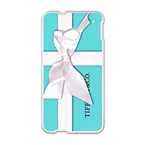 Happy Beautiful Tiffany Blue Box Phone Case for HTC One M7
