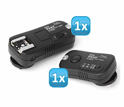 Pixel Pawn TF-364 Funk Blitzauslöser Set bis zu 100m für Panasonic, Leica und Olympus Blitzgeräte - Funkauslöser Kamera- und Blitz