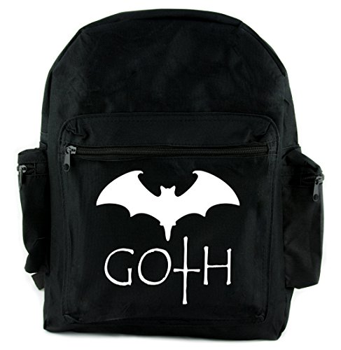 Goth Vampire Bat Backpack School Bag Gothic Alternative Clothing Nosferatu